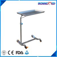 Buy cheap BM-E3015 Medical Hospital Furniture Adjustable Height Stainless Steel Mayo Table from wholesalers