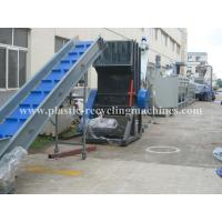 PP PE Film Washing Line Waste Plastic Recycling Machine with CE standard Manufactures