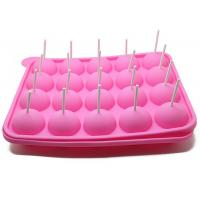 Buy cheap 20 Holes Cake Lollipop Molds Silicone Ice Tray Lollipop Chocolate Mold from wholesalers