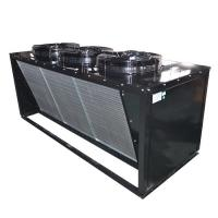 Buy cheap Electric Defrost Air Cooled Chiller Condenser High Strength Safety Operation from wholesalers