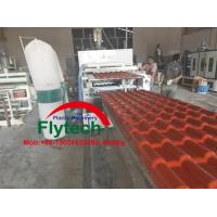 Wholesale 1040MM PVC Colonial Tile Making Machine / Plastic Spanish Roofing Tile Making Machine / PVC Roof Tile Machine from china suppliers