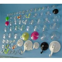 Buy cheap Durable and soft Pvc Suction Cups with plastic hook from wholesalers