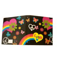 Buy cheap Cartoon Legal Size 3 Ring binder Round Ring Binder with 4C stylish print from wholesalers