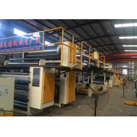 Buy cheap Steam Heating 5 Ply Corrugated Paperboard Production Line With 1600mm Effective Width from wholesalers