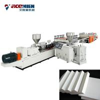 Buy cheap PVC WPC Crust Foam Foam Board Production Line For Build Template Machinery from wholesalers
