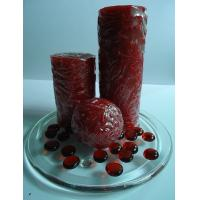 Buy cheap Paraffin wax red scented candles gift sets with flower, art candle from wholesalers