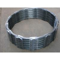 Wholesale Single Coil Concertina Razor Wire Diameter 450mm Barbed Wire CBT-65 from china suppliers