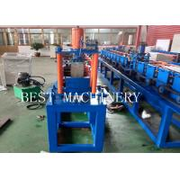 China Garage Slate Door U Shape Channel Guide Roll Forming Making Machine CE BV SGS Listed on sale