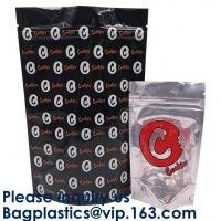 Buy cheap Custom Printing Dissolvable Smell Proof Stand Up Billy Kimber Mylar Plastic Bags Weed Pouch With Zipper from wholesalers