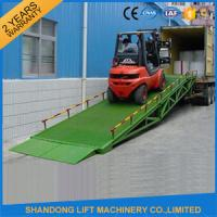 Buy cheap Mobile Hydraulic Adjustable Container Loading Ramps with 0.9m - 1.8m Lifting Height from wholesalers