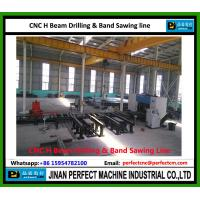 Wholesale China CNC H Beam Drilling and Band Sawing Production Line Supplier Structural Steel Machine (Model SWZ1250) from china suppliers