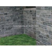 Buy cheap Garden black Marble Decration DIY Sizes Cultural Stone product