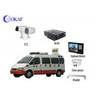 Buy cheap Vehicle Security Vehicle PTZ Camera System Anti - Shake Full HD 1080P Forensic System from wholesalers