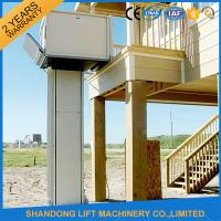Buy cheap Automatic / Stationary Wheelchair Platform Lift Aluminum Alloy With Powder Coating Material from wholesalers