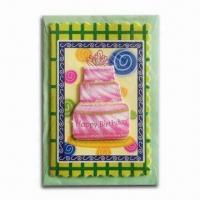 Buy cheap Happy Birthday Card in Delicate Design and Beautiful Color from wholesalers