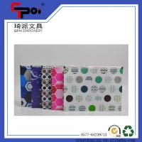 Buy cheap Office Stationery PP Plastic Zipper File Bag Full Color Print Clear Folder Bag from wholesalers