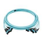 Buy cheap Multimode MPO MTP Fiber Optic 50/125um Breakout Fiber Optic Mtp Cable from wholesalers