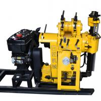 Buy cheap Hydraulic borehole water well drill/200m diamond rock core rig machine HZ-200Y digging a well equipment price from wholesalers