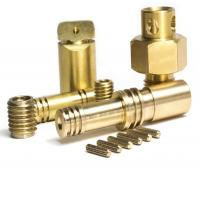 Buy cheap cnc turning brass gas burner parts from wholesalers