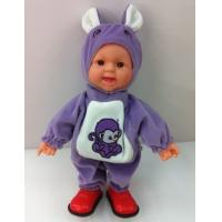 Wholesale 40cm laughing vinyl Simulation baby doll, can be children toy and gift from china suppliers