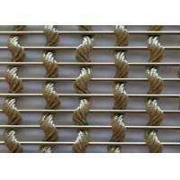 Buy cheap Woven Decorative Wire Mesh Fence Panels For Architecture 0.2mm-4mm Wire Diameter from wholesalers