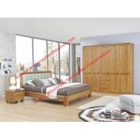 Buy cheap High-grade plate and solid wood furniture for luxury Apartment interior design in Modern nordic style by upholstery bed from wholesalers