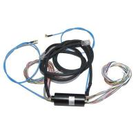 Buy cheap 30 Circuits Capsule Slip Ring Power And 8 Circuits Ethernet Signal For Cable Creel from wholesalers
