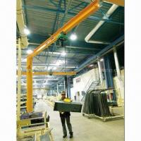 Buy cheap Standing jib crane, easy handling, lighten laboring work, improves work efficiency from wholesalers