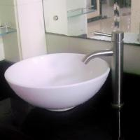 Buy cheap Single Hand Lead Free Stainless Steel Faucet Commercial Bathroom Taps from wholesalers