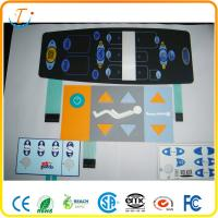 Key Embossing Keyboard PCB Membrane Switch Moisture Proof 3M467 / 3M468 Manufactures