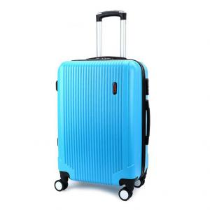 Wholesale 190D Blue 8x Mute Wheels ODM ABS PC Luggage from china suppliers