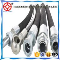 Buy cheap HIGH PRESSURE FITTING RUBBER HOSE CLAMPS INDUSTRIAL HYDRAULIC HOSE from wholesalers