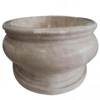 Buy cheap Beige Marble Tub from wholesalers