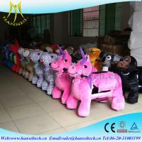 Hansel Coin Operated Kiddie Ries For Sales Amusement Electric Animal Ride Kids Rides For Shopping Center Manufactures