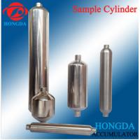 Buy cheap hydraulic gas bottle gas sampling cylinder for sampling system used for oil pipe industry from wholesalers
