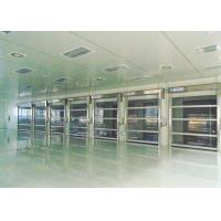 Energy Savings Roll up Industrial High Speed Door Outside High-wind Area Manufactures