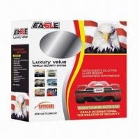 Buy cheap Car Alarm Security System with Key Lock Function to Protect Pressing Keyboard by Mistake from wholesalers