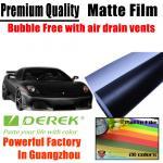 Buy cheap Matte Car Wraps Vinyl Film - Matte Black Car Wrapping Film from wholesalers
