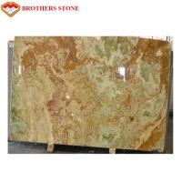 Wholesale Light Green Onyx Jade Green Stone Flooring With 15-18mm Thickness from china suppliers