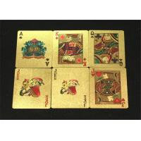 Buy cheap Water Resistant Personalized Poker Cards / Custom 54 Card Deck from wholesalers