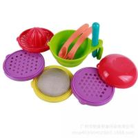 Buy cheap Customized Color Toddler Tableware Sets 21cm X 21cm X 2.5cm Size Durable from wholesalers