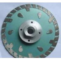 Buy cheap Turbo Diamond saw blade with flange from wholesalers