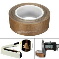 Buy cheap Heat Resistance PTFE  Tape 0.13MM Coated Fiberglass With Silicone Adhesive from wholesalers