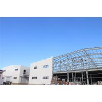 Wholesale ISO Prefabricate Steel Frame Warehouse / Agricultural Steel Frame Buildings from china suppliers