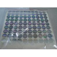 Buy cheap Custom Hologram Stickers from wholesalers
