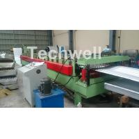 Buy cheap Aluminium Corrugated Sheet Roof Roll Forming Machine High Speed 10-15m / Min from wholesalers
