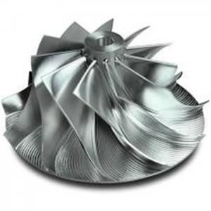 Wholesale Balanced Turbo Compressor Wheel , Turbo Impeller Wheel Slim Hub Match from china suppliers