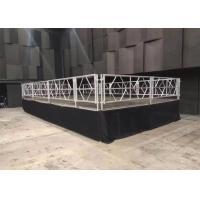 Buy cheap Waterproof Mobile Stage Rental , Anti Skip Concert Folding Stage Platform product