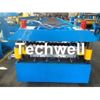 Custom and High Speed Double Sheet Roll Former / Roll Forming Machine With 18 Stations Manufactures