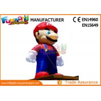 Wholesale PVC Coated Nylon 3 - 8m Advertising Inflatables Mario Model / Inflatable Cartoon Characters from china suppliers